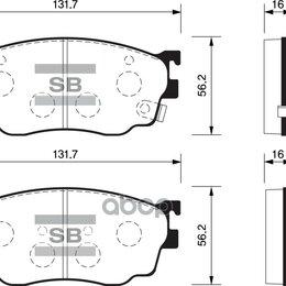 Тормозная система  - Колодки Тормозные Передние Sp1529 Sangsin brake арт. SP1529, 0