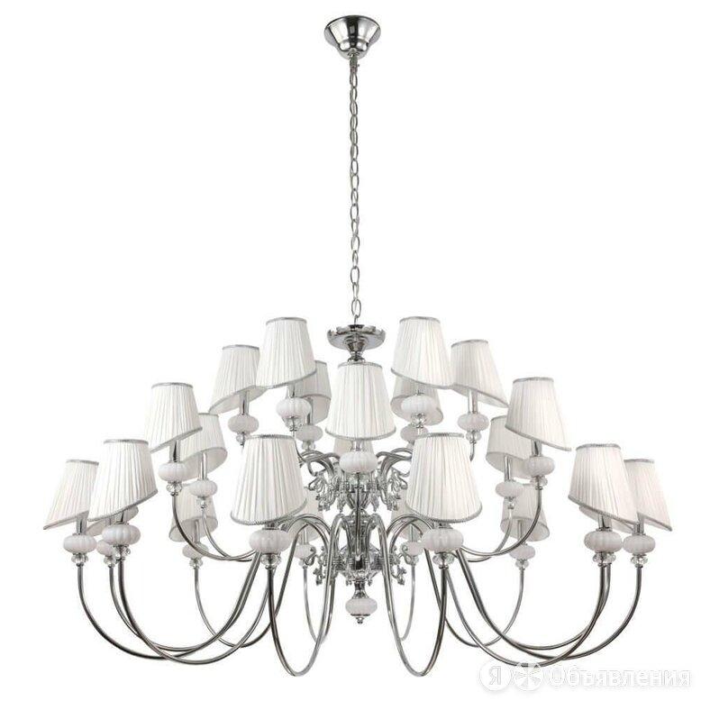 Подвесная люстра Crystal Lux Alma White SP-PL12+6+6 по цене 98300₽ - Люстры и потолочные светильники, фото 0