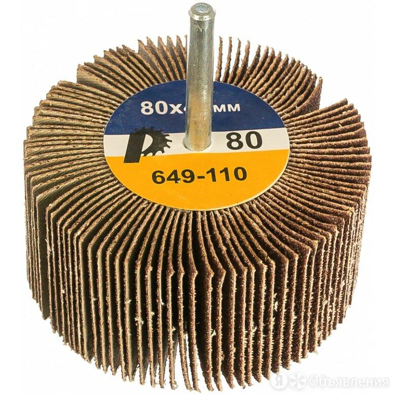 Лепестковый круг ПРАКТИКА 649-110 по цене 457₽ - Для шлифовальных машин, фото 0