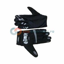 Прочие аксессуары и запчасти - Велоперчатки FUZZ RACE LIGHT, длинные пальцы, черный  (Размер: L), 0