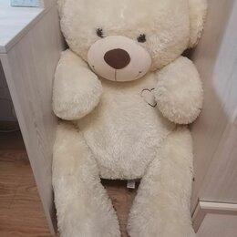 Мягкие игрушки - Большой плюшевый медведь, 0