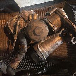 Двигатель и топливная система  - корпус масляного фильтра Audi 2.5 tdi, 0