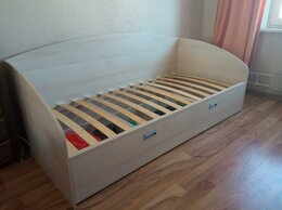 Кровати - Кровать односпальная без матраса, 0