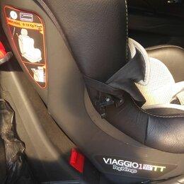 Автокресла - Автокресло детское кожаное Viaggio1 Duo Fix  TT Peg-perego., 0