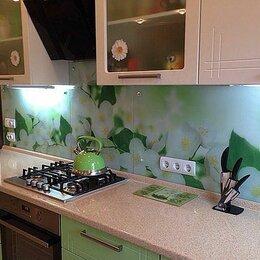 Стеновые панели - Фартук для кухни (скинали) из закаленного стекла , 0
