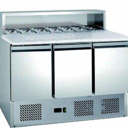 Жарочные и пекарские шкафы - Стол для пиццы Hurakan HKN-PZLG3, 0