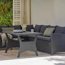 Комплекты садовой мебели - Набор садовой мебели из искусственного ротанга диван +стол, 0