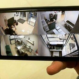 Готовые комплекты - 4 камеры видеонаблюдения под ключ с монтажом, 0
