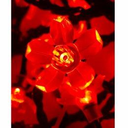 Новогодний декор и аксессуары - Гирлянда электрическая «Вишня» 10м, 8 режимов, 0