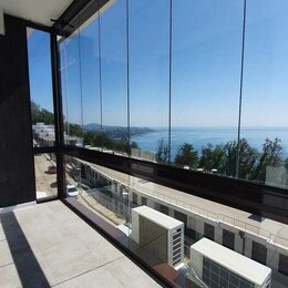 Дизайн, изготовление и реставрация товаров - Остекление балконов (безрамное) на заказ, 0
