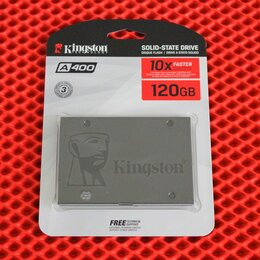 Жёсткие диски и SSD - SSD накопитель Kingston A400 SA400S37/120G, 0