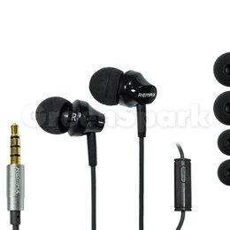 Наушники и Bluetooth-гарнитуры - Гарнитура Remax RM-501 (черный), 0