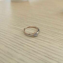 Кольца и перстни - кольцо золотое женское, 0