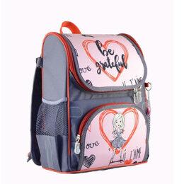 Рюкзаки, ранцы, сумки - Ранец САКСИ раскладной (со светоотражающими элементами) Девочка +брелок, 0