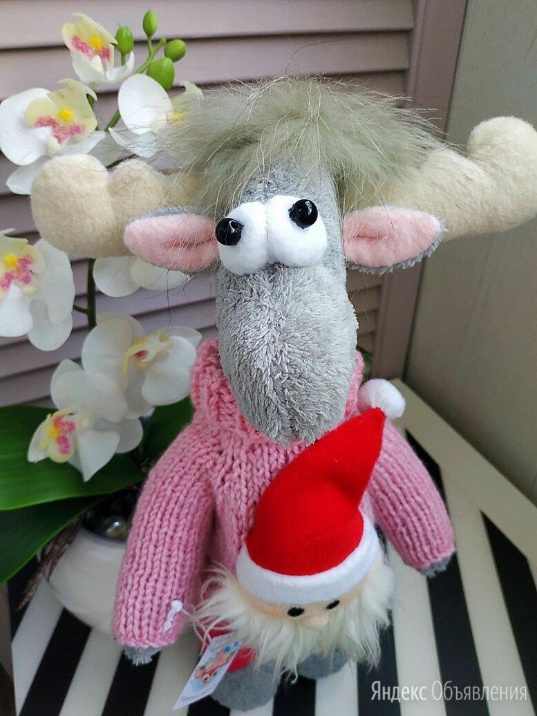Интерьерная игрушка Новогодний рождественский Лось по цене 1500₽ - Новогодний декор и аксессуары, фото 0