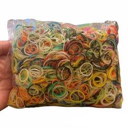 Рукоделие, поделки и сопутствующие товары - Резинки для плетения пакетом, с крючками, 0