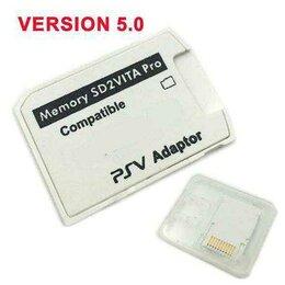 Аксессуары - Адаптер Micro SD в карту для игров. консоли Вита, 0
