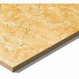 Древесно-плитные материалы - Osb-3 плита 2500*1250, 0