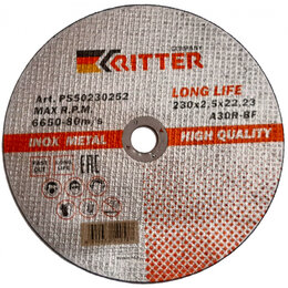 Диски отрезные - Отрезной круг RITTER A30R-BF-T41 LongLife HQ, 0