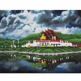 Мозаика - Алмазная мозайка Загадочный Таиланд 40*50см. с подр., с полным заполнением, 0