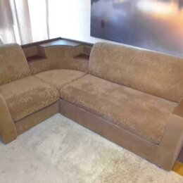 Диваны и кушетки - Угловой диван с двумя подлокотниками, 0