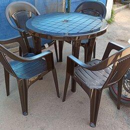 Комплекты садовой мебели - Комплект садовой  из пластика на 4 персоны Лира…, 0