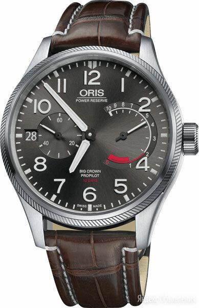 Наручные часы Oris 111-7711-41-63LS по цене 494600₽ - Наручные часы, фото 0