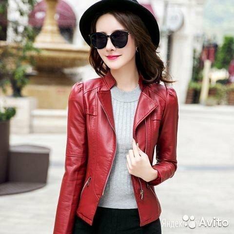 Кожаная куртка по цене 3500₽ - Куртки, фото 0