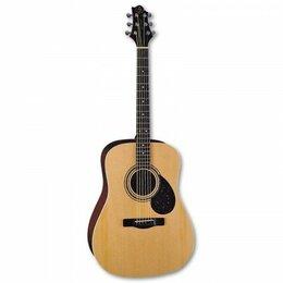 Акустические и классические гитары - Акустическая гитара Greg Bennett D-2/N, 0