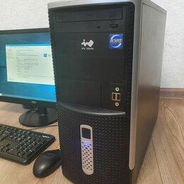 Настольные компьютеры - 🔥Игровой i3, 8гб, gtx950, 500гб, 0