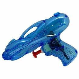 Компрессоры и баллоны - 1toy Аквамания Водяной пистолет синий прозрачный 12,5*8*3, 0