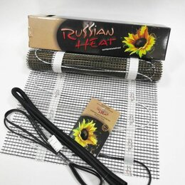 Электрический теплый пол и терморегуляторы - Мат нагревательный Rassian Heat на 8 кв. метра под плитку, 0