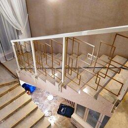 Лестницы и элементы лестниц - Лестничные перила из металла, 0