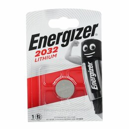Батарейки - Элемент питания ENERGIZER CR 2032 Lithium BL1, 0