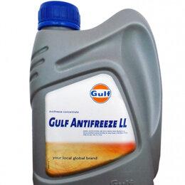 Химические средства - Антифриз концентрированный синий GULF Antifreeze LL (1л)***, 0