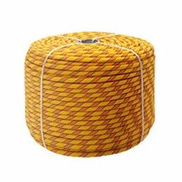 Веревки и шнуры - Веревка полиамидная страховочная 14мм высокопрочная Атекс, 0