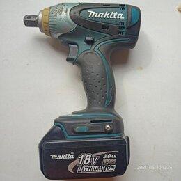 Гайковерты - Ударный аккумуляторный гайковерт Makita BTW251, 0