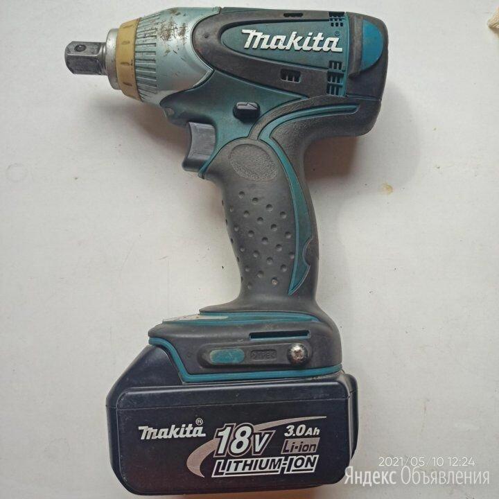Ударный аккумуляторный гайковерт Makita BTW251 по цене 11000₽ - Гайковерты, фото 0