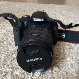 Фотоаппараты - Зеркальный фотоаппарат Canon 600D, 0