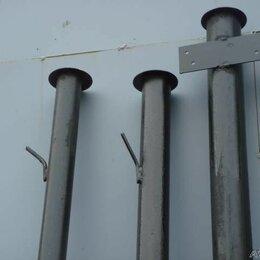 Заборы, ворота и элементы - Столбы металлические , 0