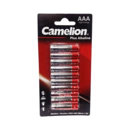 Аксессуары и запчасти для оргтехники - Батарейка Camelion LR03 Plus Alkaline BL-10 10 шт, 0