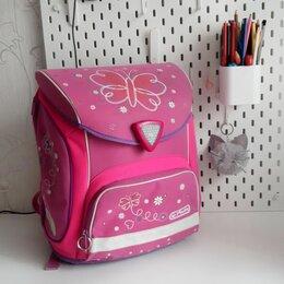 Рюкзаки, ранцы, сумки - Herlitz ранец школьный для девочки, 0