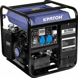 Электрогенераторы и станции - Генератор бензин инверторный Кратон GG-7200iЕ, 0