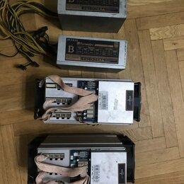 Промышленные компьютеры - Асик antminer t9+ c бп, 0