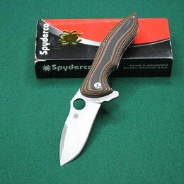 Ножи и мультитулы - Нож складной Spyderco Rubicon, 0