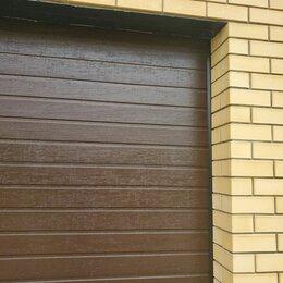 Заборы, ворота и элементы - Ворота секционные гаражные 2700*2250, 0