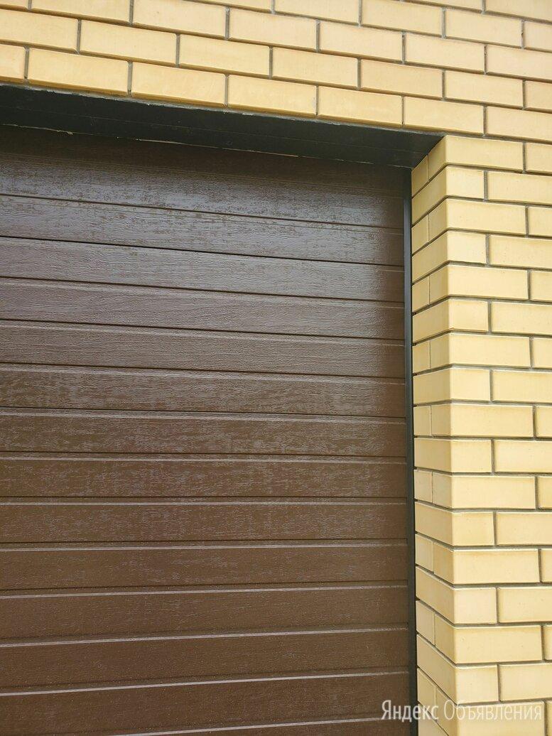 Ворота секционные гаражные 2700*2250 по цене 49000₽ - Заборы, ворота и элементы, фото 0