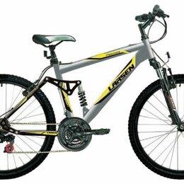 Велосипеды - Подростковый горный (mtb) велосипед larsen super team 24 (2007), 0