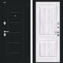 Входные двери - Входная дверь Некст Kale Букле черное Riviera Ice, 0