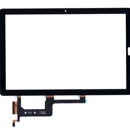 Чехлы для планшетов - Сенсорное стекло (тачскрин) для Huawei MediaPad M5 Pro 10.8 черное, 0